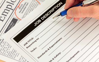 Cosa fai se la Job Description non ce l'hai?